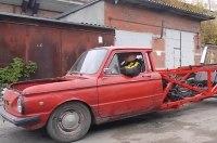 Экстремальный тюнинг ЗАЗ: старый Запорожец с японским V12