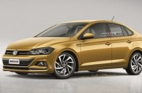 Седан Volkswagen Polo: новые изображения