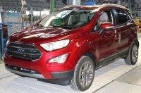 В Европе началось производство обновлённого Ford EcoSport