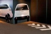 Новые машины Mitsubishi будут проецировать стоп-сигналы на дорогу