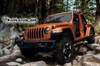 В Интернет попали фотографии нового Jeep Wrangler