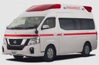Nissan разработал автомобиль скорой помощи