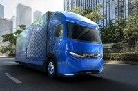 23-тонный электрогрузовик Daimler проедет 350 километров без зарядки