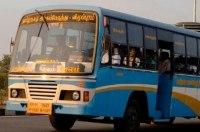 Безумная гонка двух автобусов с пассажирами попала на видео