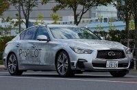 Полностью автономный Nissan колесит по Токио