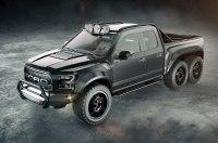 Американцы выпустят 6-колесный пикап Ford F-150 Raptor ценой почти в $300 тысяч