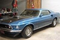 На продажу выставили практически новый Ford Mustang 1969 года
