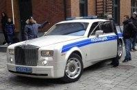 В московской Рублёвке появился полицейский Роллс-Ройс!