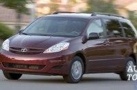 Toyota отзывает сотни тысяч экземпляров минивена Sienna