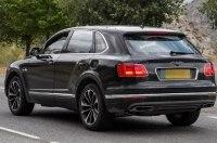 Плагин-гибридный Bentley Bentayga тестируют на Нюрбургринге