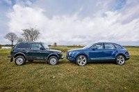 Немцы провели сравнительный тест: Нива против Bentley Bentayga