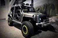 Производитель магнитол построил Jeep Wrangler с пулеметной турелью