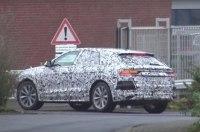 Кроссовер Audi Q8 2018 засняли на видео