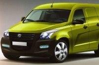 Секретный заводской эскиз нового лёгкого фургона ГАЗ