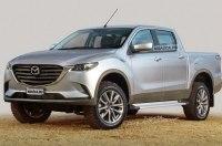 Новый пикап Mazda: первые изображения