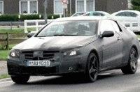 Шпионы сфотографировали тестовый Mercedes CLK
