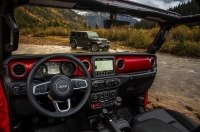 Jeep рассекретил интерьер нового Wrangler