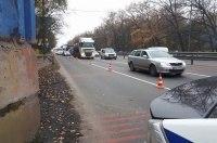 На въезде в Киев полиция проверяет автомобили