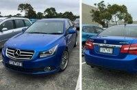 Бюджетный седан Holden Cruze превратили в «заряженный» Mercedes-AMG