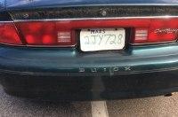 Полицейские в США задержали машину с номером из коробки для пиццы