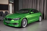 Alpina создала ядовито-зеленую спецверсию купе B4 S Rallye Green
