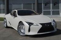 Купе Lexus LC500 «обули» в 24-дюймовые колёса Forgiato