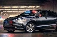 Ford представил новый электрический седан для полиции