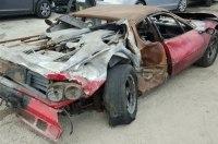 Неизвестный выложил 40 тысяч долларов за полностью сгоревшую Ferrari