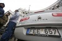 Стало известно, сколько в Украине угнали евроблях
