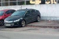 Новейший электромобиль впервые замечен в Украине