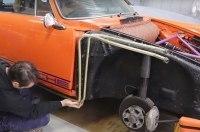 Полтора года реставрации Porsche показали за четыре минуты