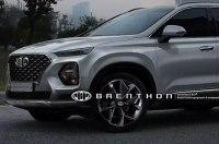 Новый Hyundai Santa Fe: первые изображения