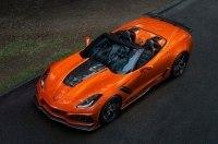 Экстремальный кабриолет: Chevrolet представил модель Corvette ZR1 Convertible