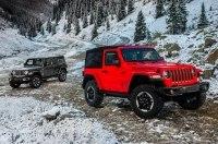 Новый Jeep Wrangler: алюминиевый кузов и крыша с электроприводом