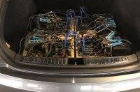 Электрокар Tesla приспособили для майнинга криптовалюты