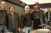 Интервью: Киану Ривз и Гард Холлинджер и их новые мотоциклы Arch Motorcycle (видео)