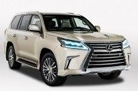 Lexus представил пятиместный вариант внедорожника LX 2018 в Лос-Анджелесе