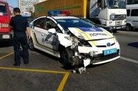 Сколько автомобилей повредили патрульные с момента начала работы полиции