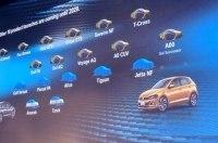Немецкая компания Volkswagen готовит россыпь новинок