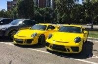 В Украине засняли самый экстремальный спорткар Porsche 911
