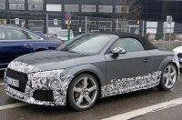 На тестах замечен обновлённый Audi TT RS