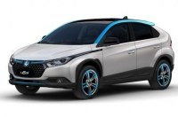 Компания Luxgen рассекретила электрокроссовер U5 EV