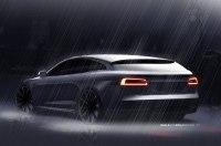 Раскрыт дизайн универсала на базе Tesla Model S