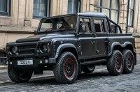 Тюнеры показали поразительный шестиколесный Land Rover