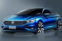 Volkswagen показал новую Jetta со всех сторон