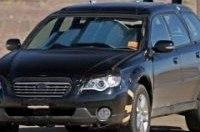 Появились шпионские фото Subaru Forester 2009