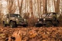 Немецкий тюнер превратил Jeep Wrangler в классический «Виллис»