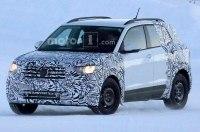 Фотошпионам удалось заснять новый кроссовер VW T-Cross