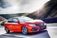 В Украине стартуют продажи хэтчбека Honda Civic 5D Turbo