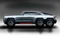 Гелику на зависть: каким бы мог быть шестиколесный Rolls-Royce